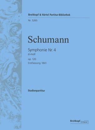 Robert Schumann - Symphonie Nr. 4 d-moll op. 120 – Partitur - Partition - di-arezzo.fr