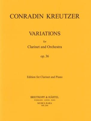 Variationen op. 36 - Klarinette Klavier - laflutedepan.com