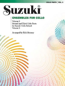 Suzuki - Ensembles For Cello Volume 3 - Partition - di-arezzo.fr