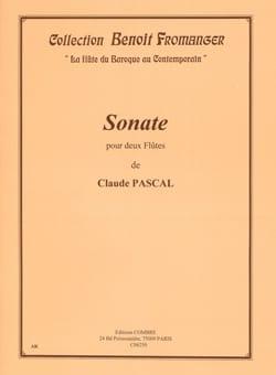Claude Pascal - Sonate pour 2 flûtes - Partition - di-arezzo.fr
