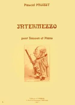 Intermezzo Pascal Proust Partition Basson - laflutedepan