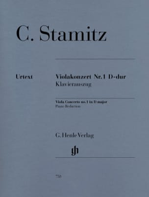 Carl Stamitz - Concierto para violín n.º 1, re mayor - Partitura - di-arezzo.es