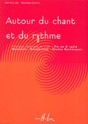 Joly Jean-Paul / Canonici Véronique - Around Song and Rhythm Volume 3 - Sheet Music - di-arezzo.co.uk