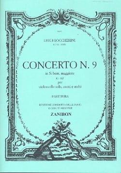 Concerto n° 9 Cello, si bem. maggiore G. 482 BOCCHERINI laflutedepan