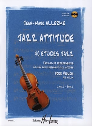 Jean-Marc Allerme - Jazz Attitude Volume 1 - Sheet Music - di-arezzo.co.uk