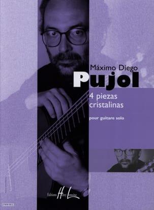 Maximo Diego Pujol - 4 Piezas cristalinas - Partitura - di-arezzo.es