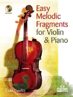 Easy melodic fragments - Violin - Colin Cowles - laflutedepan.com