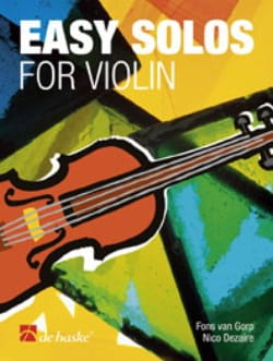 Fons van Gorp - Easy solos for Violon - Partition - di-arezzo.fr