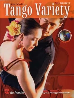 Sytse Wagenmakers - Tango Variety For Violon - Partition - di-arezzo.fr