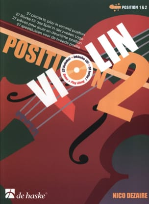Nico Dezaire - Position 2 – Violon - Partition - di-arezzo.fr