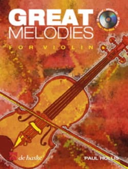 Paul Hollis - Great Melodies for Violon - Partition - di-arezzo.fr