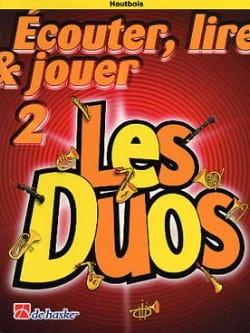 DE HASKE - Ecouter Lire et Jouer - Les Duos Volume 2 - 2 Hautbois - Partition - di-arezzo.fr