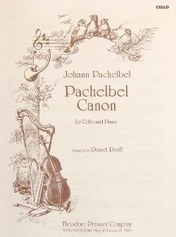 Pachelbel Johann / Dorff Daniel - Canon - Violoncelle - Partition - di-arezzo.ch
