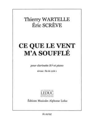 Wartelle Thierry / Scrève Eric - What the wind blew me - Sheet Music - di-arezzo.com