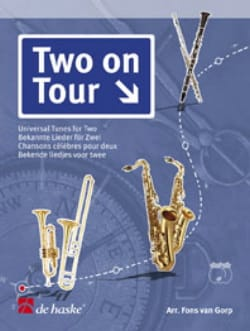 Fons van Gorp - Two on Tour - 2 Flutes - Partition - di-arezzo.fr
