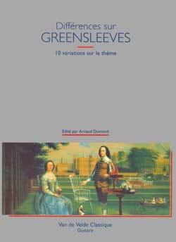 Arnaud Dumond - Différences sur Greensleeves - Partition - di-arezzo.fr