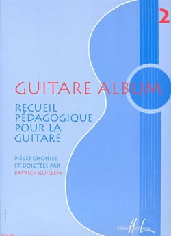Patrick Guillem - Guitare Album – Volume 2 - Partition - di-arezzo.fr
