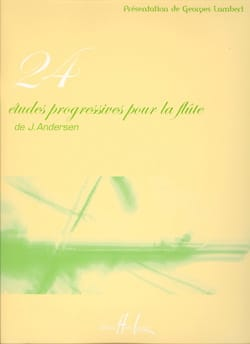 Joachim Andersen - 24 Progressive Studies for the Flute - Sheet Music - di-arezzo.co.uk