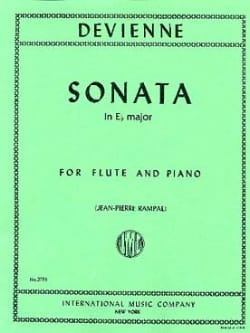 François Devienne - Sonata in E flat major - Flute - Sheet Music - di-arezzo.com