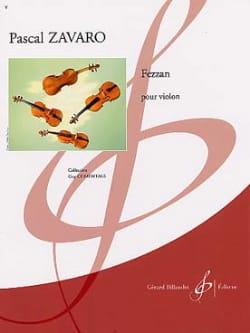 Pascal Zavaro - Fezzan - Sheet Music - di-arezzo.com