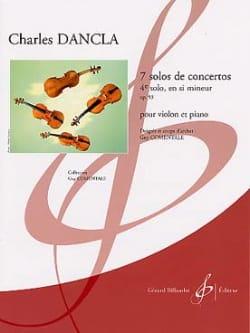 Charles Dancla - Solo de concerto n° 4 op. 93 en si mineur - Partition - di-arezzo.fr