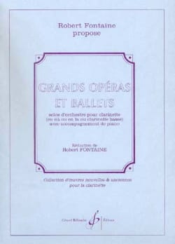 Grands opéras et Ballets Robert Fontaine Partition laflutedepan