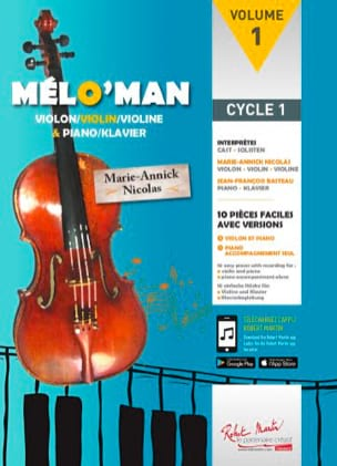 Marie-Annick Nicolas - Mélo'man - Sheet Music - di-arezzo.co.uk