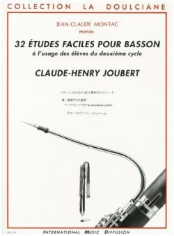 Claude-Henry Joubert - 32 Easy studies for bassoon - Sheet Music - di-arezzo.co.uk
