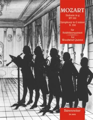 Symphonie g-moll KV 550 -Holzbläserquintett - Partitur + Stimmen laflutedepan