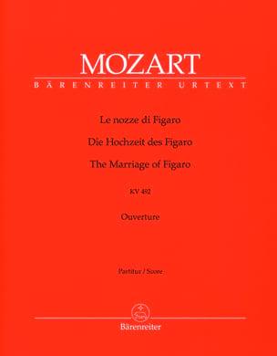 MOZART - Le nozze di Figaro, Ouverture KV 492 – Partitur - Partition - di-arezzo.fr