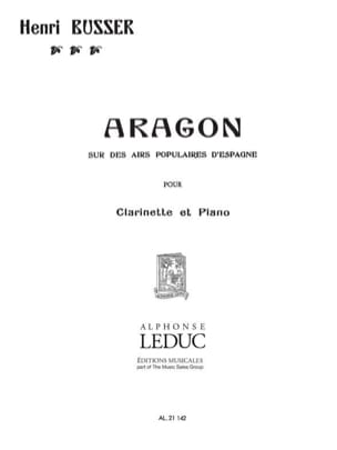 Henri Büsser - Aragon op. 91 - Sheet Music - di-arezzo.co.uk