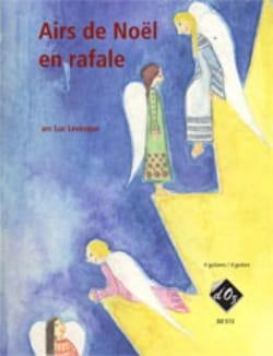 Airs de Noël en rafale - 4 guitares - Luc Levesque - laflutedepan.com
