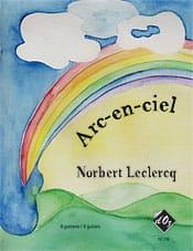 Arc En Ciel - 4 Guitares Norbert Leclercq Partition laflutedepan