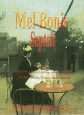 Mel Bonis - Septett - 2 Flutes, Piano and String Quartet - Sheet Music - di-arezzo.com