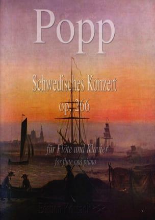 Wilhelm Popp - Schwedisches Konzert Op. 266 - Partition - di-arezzo.fr