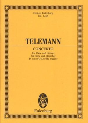 Georg Philipp Telemann - Flöten-Konzert D-Dur - Partition - di-arezzo.fr