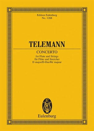 TELEMANN - Flöten-Konzert D-Dur - Partition - di-arezzo.fr