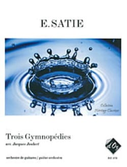 Erik Satie - 3 Gymnopédies – orchestre de guitares - Partition - di-arezzo.fr