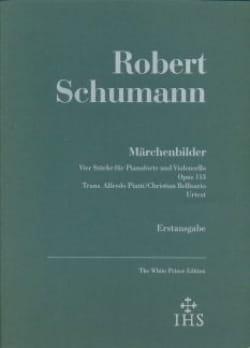 SCHUMANN - Märchenbilder op. 113 - Violoncelle et piano - Partition - di-arezzo.fr