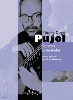 5 Piezas Artesanales - Maximo Diego Pujol - laflutedepan.com
