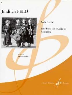 Jindrich Feld - Nocturne - Parties + cond. - Partition - di-arezzo.fr