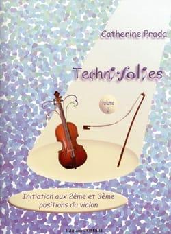 Techni Folies Volume 2 Catherine Prada Partition Violon - laflutedepan