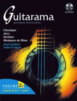 Khalifa M. / Guillem P. - Guitarama Volume 2A - Partition - di-arezzo.fr