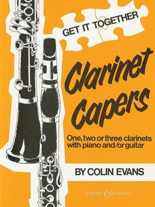 Evans Colin - Clarinet Capers - Partition - di-arezzo.fr