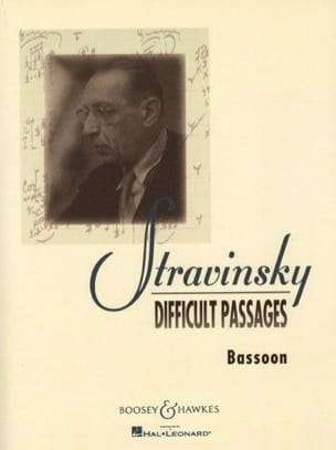 Igor Stravinsky - Difficult passages - Bassoon - Sheet Music - di-arezzo.com