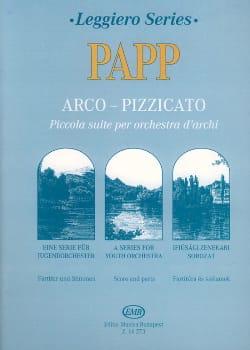 Arco-Pizzicato Lajos Papp Partition ENSEMBLES - laflutedepan