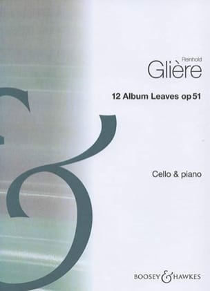 Reinhold Glière - 12 Album Leaves op. 51 - Partition - di-arezzo.fr