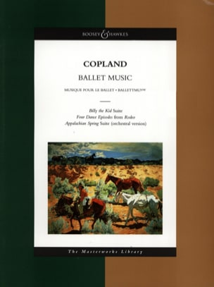 Aaron Copland - Ballet Music - Conducteur - Partition - di-arezzo.fr