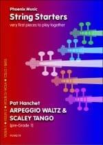 Pat Hanchet - Arpeggio Waltz / Scaley Tango – String ensemble - Partition - di-arezzo.fr