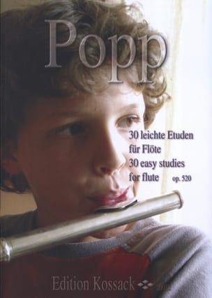 Wilhelm Popp - 30 Leichte Etuden Op. 520 - Sheet Music - di-arezzo.co.uk